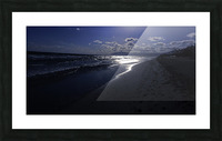 Reflections - Beneath the Moonlit Skies Picture Frame print