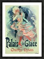 Palais de Glace Vintager Poster Picture Frame print