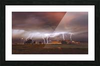 Light em Up  Picture Frame print