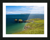 Northern Ireland Coast View Picture Frame print