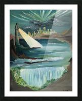 RA 040 - אור המגדלור - Lighthouse light Picture Frame print