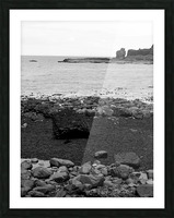 Sea and Rocks Picture Frame print