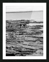 Over Rocks Picture Frame print
