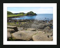 The Giants Causeway in Northern Ireland Picture Frame print