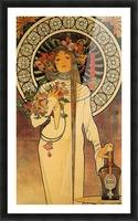 La Trappistine by Alphonse Mucha Picture Frame print