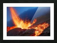 Hot Landscape Picture Frame print