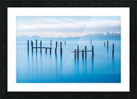 The Old Pier of Sausalito Picture Frame print
