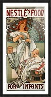 Nestle by Alphonse Mucha Picture Frame print