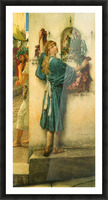 A road altar by Alma-Tadema Picture Frame print