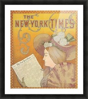 NY Times Picture Frame print