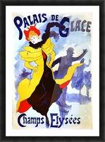 Palais de Glace by Cheret Picture Frame print