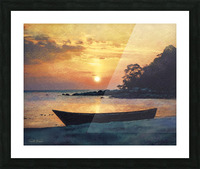 If I had a boat Picture Frame print