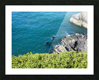 Adventure in Howth Ireland Picture Frame print