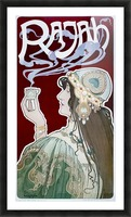 Rajah by Henri Privat-Livemont Picture Frame print