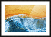 Golden Beach I Picture Frame print