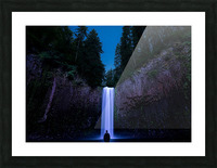 Abiqua Falls Picture Frame print