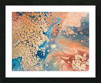 Coral Reef Abstract Picture Frame print