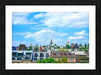 Skyline Lucerne Switzerland Picture Frame print