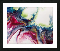 Dichotemy Abstract Picture Frame print