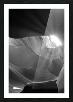 Light Cavern Impression et Cadre photo