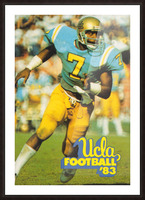 1983 UCLA Bruins Football Poster Picture Frame print