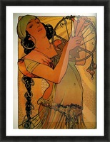 Solome by Alphonse Mucha Picture Frame print