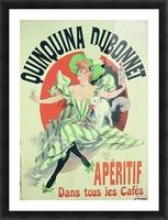Quinquina Dubonnet - Aperitif dans tous les Cafes poster Picture Frame print