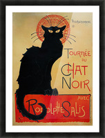 Theophile Steinlen - Tournee du Chat Noir Picture Frame print