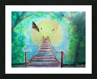 The Bridge To Next Tuesday Picture Frame print