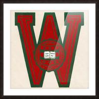 Vintage Fifties Washington University in Saint Louis Picture Frame print