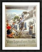 VonLandenVolk Picture Frame print