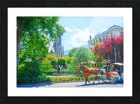One Day in Interlaken Switzerland 1 of 3 Picture Frame print