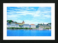 Waterfront   Lucerne Switzerland 2 of 3 Picture Frame print
