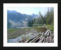 Sawtooth Lake Picture Frame print