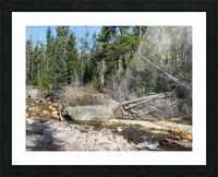 Upper Provo River Picture Frame print