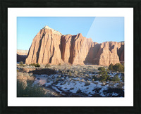 Lighted Cathedral Picture Frame print