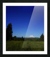 Mount Rainier at Sunset Pacific Northwest Washington State Picture Frame print