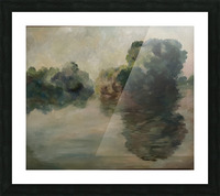 Monet study two Picture Frame print