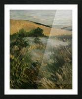 Arkansas field Picture Frame print