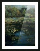 Calhoun pond Picture Frame print