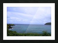 Ninini Point Lighthouse Kauai Hawaii Picture Frame print