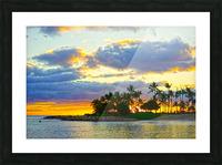 Sunset over Kaula Bay Hawaii Picture Frame print