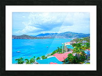 Pacquereau Bay Saint Thomas Caribbean Islands Picture Frame print