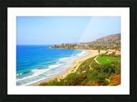Beautiful Coastal View Newport Beach California 1 of 2 Picture Frame print