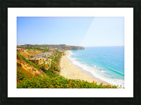 Beautiful Coastal View Newport Beach California 2 of 2 Picture Frame print