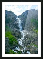 Engstligen Falls Adelboden Switzerland in the Bernese Highlands Picture Frame print