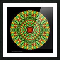 Mandala 2029 Picture Frame print