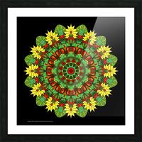 Mandala 2012 Picture Frame print