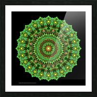 Mandala 2016 Picture Frame print