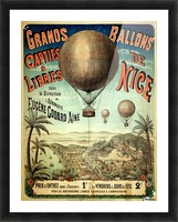 Grands Ballons de Nice Picture Frame print